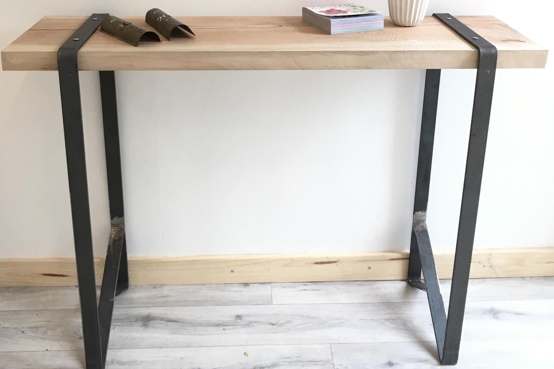 acheter console sur mesure l 39 atelier urbain lyon. Black Bedroom Furniture Sets. Home Design Ideas