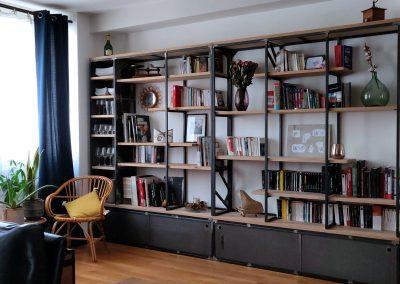 Bibliothèque Thomas et Caroline - 3850€