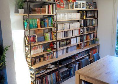Bibliothèque d'Alexis et Anne-Sophie - 3250€