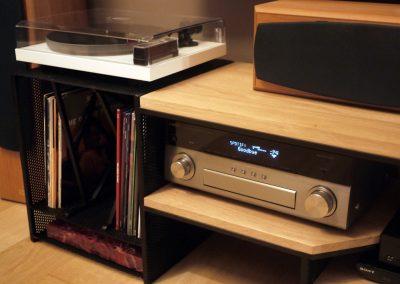 Meuble TV pour Vinyles Lyon