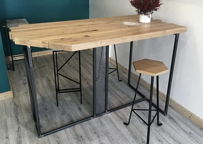 Table haute - accueil