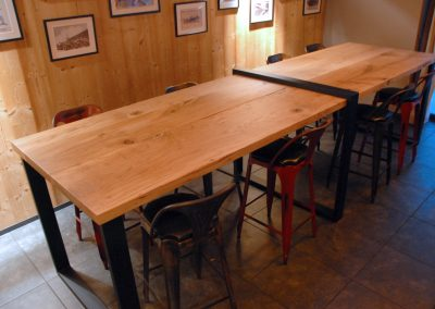 Table sur mesure de restaurant - L'Atelier Urbain