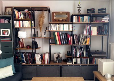 Bibliothèque Charlotte et Vincent - 3140€